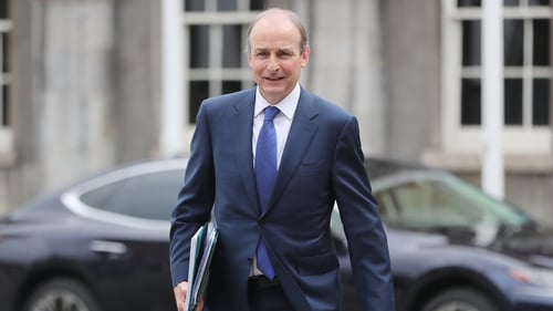 Micheál Martin said the garda file relating to Barry Cowen's drink driving offence in 2016 raised issues that required more explanation