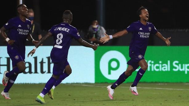 Nani stars as MLS returns at Disney World