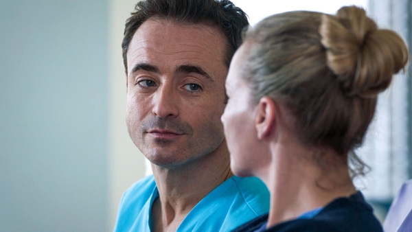 Joe McFadden as Raf and Kaye Wragg as Essie in the upcoming episode