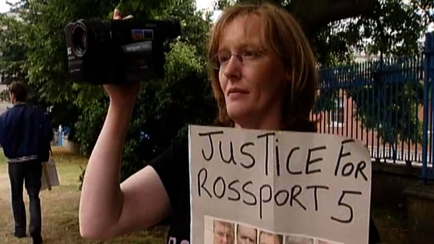 Rossport 5 Protest, 2005