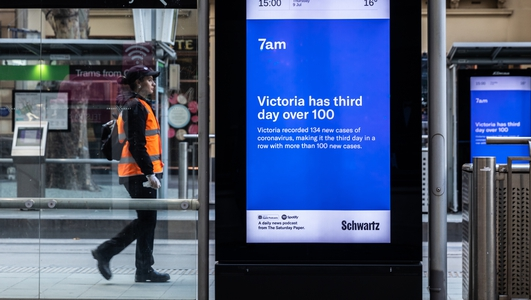 Second lockdown in Melbourne: The state of Victoria recorded 288 new infections in the past 24 hours