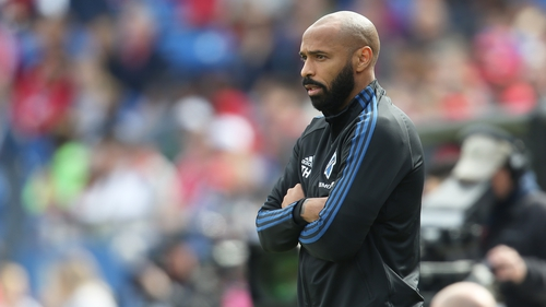Thierry Henry raised further awareness of the Black Lives Matter campaign with his show of solidarity