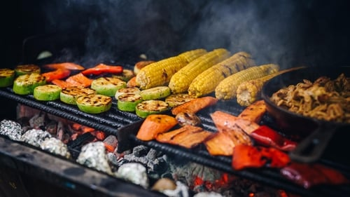 Not keen on meat substitutes? Go big on barbecued veg instead.