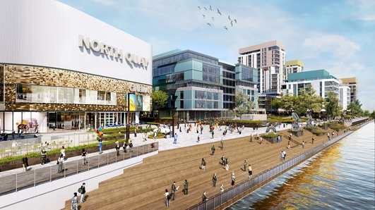 Planning permission granted for a major €400 million mixed-use development on Waterford's North Quays