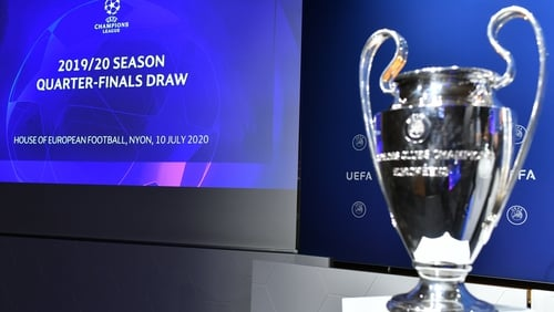 The draw for the latter stages of the competition took place in Nyon