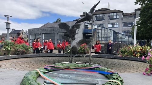 A ceremony took place today in the garden of Limerick City Hall