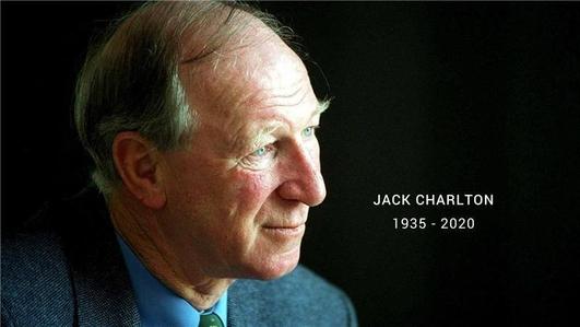 Micheál Ó Dubhda; Jack Charlton sa Chlochán.