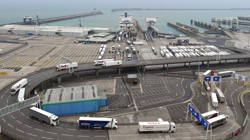 Dover port is a main access point on the EU-UK frontier