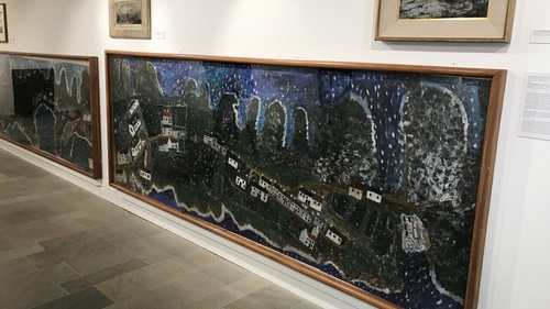 Exhibition in the Glebe gallery