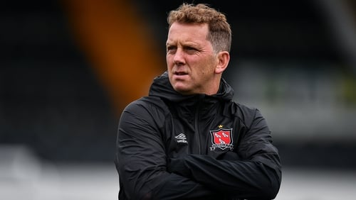 Vinny Perth's long association with Dundalk has come to an end