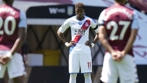 Wilfried Zaha was targeted for abuse by a 12-year-old Aston Villa fan