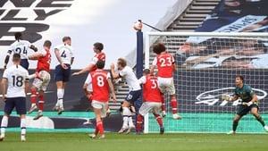Toby Alderweireld heads home the Tottenham winner