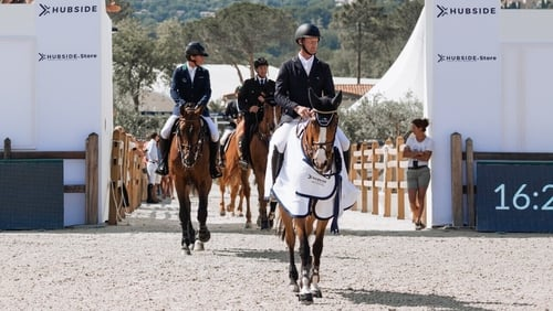 Denis Lynch was runner-up  in the €100,000 Grand Prix at Grimaud