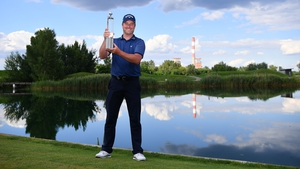 Marc Warren celebrates his first European win since 2014