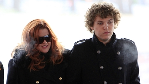Benjamin Keough pictured with his mother Lisa Marie Presley