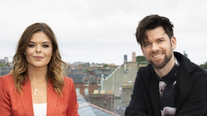 """Doireann Garrihy and Eoghan McDermott - """"With SVP shops closed for so long and collections interrupted, donations are needed now more than ever"""""""