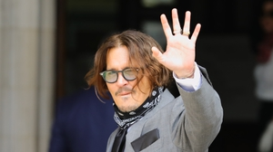Actor Johnny Depp, 57, was answering questions on an alleged incident in 2015