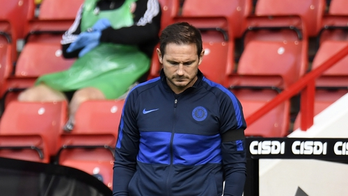 Frank Lampard's side remain in the hunt for a top four finish
