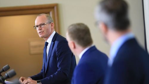 Simon Coveney said it is not a time for normal holidays involving tourists coming from abroad (Pic: Rolling News)