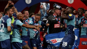 Wycombe Wanderers celebrate creating club history at Wembley