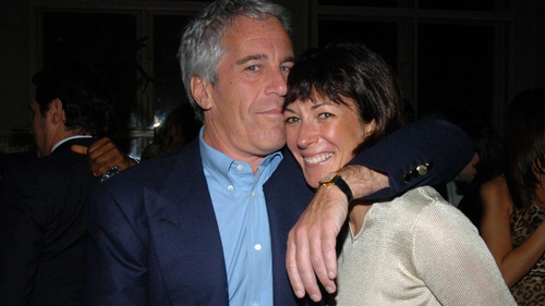 Ghislaine Maxwell pictured with Jeffrey Epstein