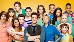 The Glee family: The cast in the Season Five of Glee.