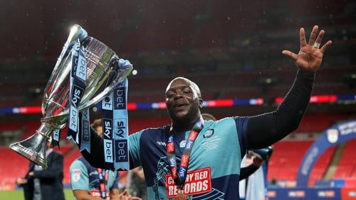 Jurgen Klopp sends congratulatory message to Wycombe's Akinfenwa