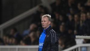 John Sheridan is setting big targets at Waterford