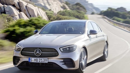 The revised E-Class saloon will be followed by coupe and cabrilet versions.