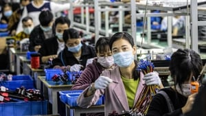 China's gross domestic product expanded 3.2% in the three months from April to June