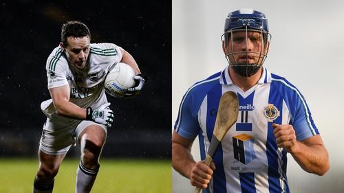 Ballaghderreen's Andy Moran, left, and Ballyboden St Enda's dual player Conal Keaney
