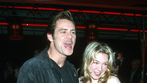 """Jim Carrey: """"That's true and she was special to me, very special. I think she's lovely."""""""