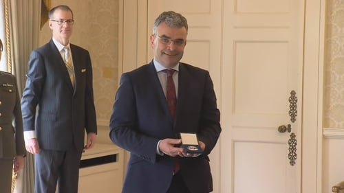 Dara Calleary is the new Minister for Agriculture, Food and the Marine