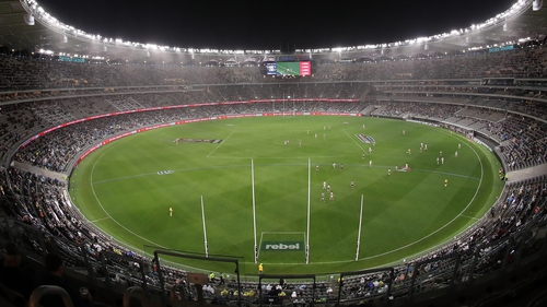 The Fremantle Dockers and West Coast Eagles will clash at Perth Stadium