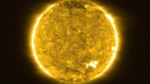 The Solar Orbiter came within 47 million miles of the Sun's surface