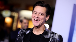 Carrey on laughing
