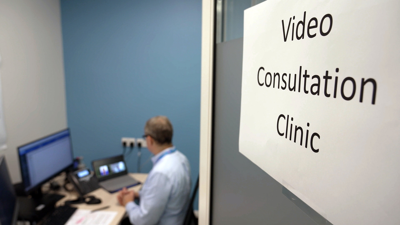 Image - Video Consultation Clinics have been commonplace at St James's Hospital