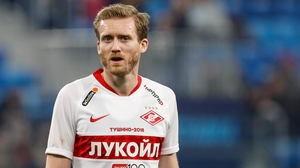 Andre Schuerrle in action for Spartak Moscow