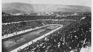 Irish long jumper Peter O'Connor attempted to replace a Union Jack with an Erin go Braghflag at the 1906 Intercalated Games in Athens