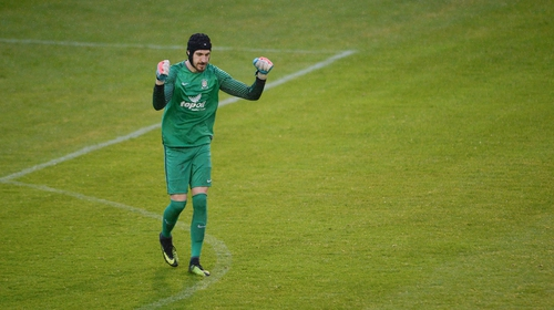Igors Labuts played for Athlone in 2017