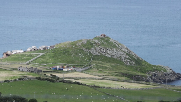 The Northmanis being shot on County Antrim's scenic Torr Headon the spectacular north coast.