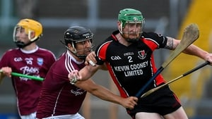 Anthony Roche of Oulart the Ballagh in action against Ciaran Lyng of St Martin's