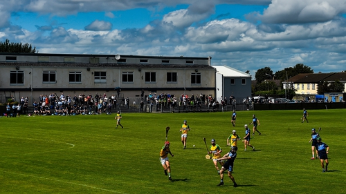 Faughs and Jude's played out an exciting game in Kimmage in the first Dublin club championship game of 2020