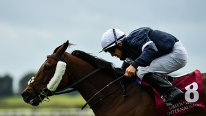 Twilight Payment was eight lengths clear at the end
