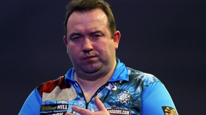 Brendan Dolan suffered a first-round defeat