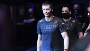 Joseph Duffy ahead of his fight against Joel Alvarez