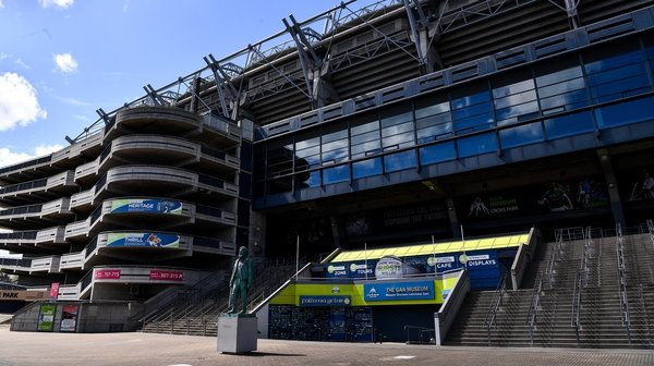 Croke Park will allow 2,400 for the weekend's Division 3 final