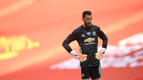 David De Gea has been struggling for form