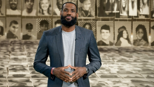 LeBron Reacts To His Rookie Card Selling For $1.8 Million