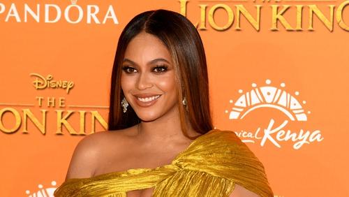 Beyoncé at The Lion King premiere